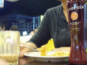 Mangosztán ital